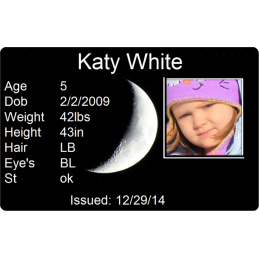 Waxing Crescent Moon Child Id