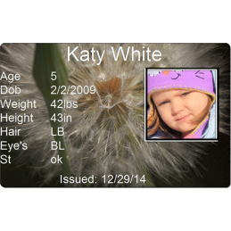 Dandelion Child Id #childid