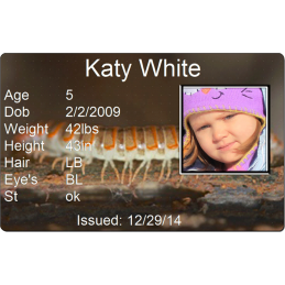 Police Dept. Child Id
