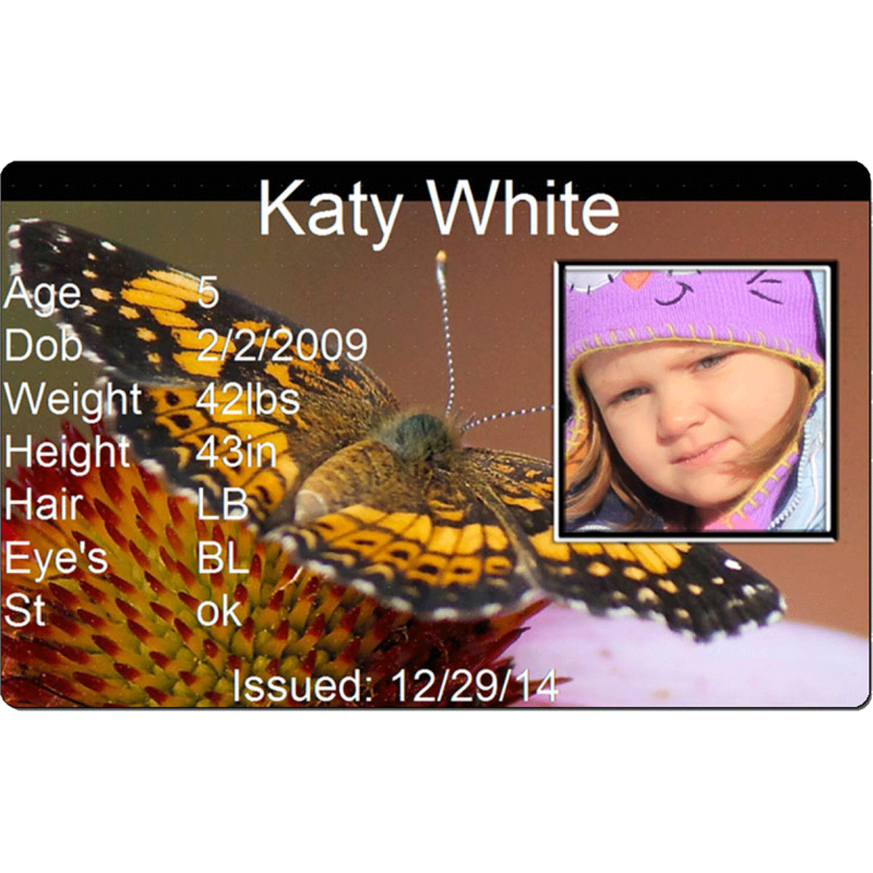 Butterfly Child Id #childs