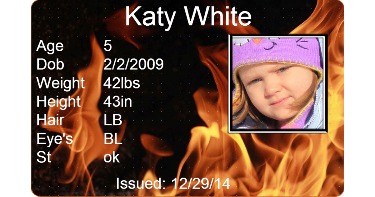 Fire Child Id #childids