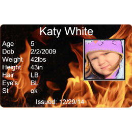 Fireworks Child Id