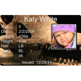 Dinosaur Child Id